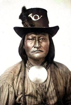 Bird Chief. Arapaho. 1867. Photo by William S. Stinson.