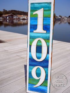 Love this house number sign.....