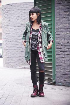 fashion blogger dr martens ramones 1