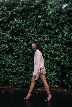 Lust for Life struttin' it at SWIM WEEK in the #tularosa Knox Fringe jacket .