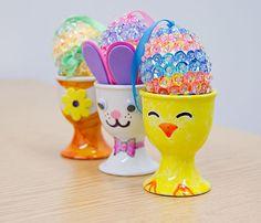 motifs for decorating porcelain egg cups