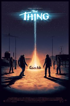 The Thing, by Matt Ferguson #mattfergusson #thethingprint