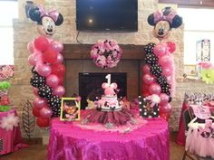 Lots of Minnie Mouse birthday ideas