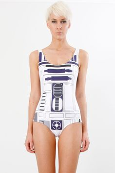 Too bad it appears Black Milk isn't making these Star Wars swimsuits anymore. I've been looking for a nice one piece.