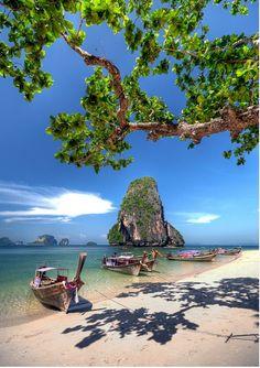 Pranang bay, Krabi, Thailand