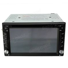 6.2 Inch Double 2DIN Car Stereo DVD Player Bluetooth GPS Navigation HD USB TV Camera Sale - Banggood.com