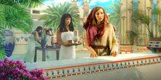 Sara en el palacio del Faraón