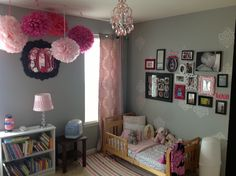 Toddler to Little Girl's room.
