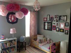 Toddler to Little Girl's room.