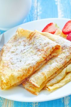 Simple french crepes are an easy way to make any dessert or breakfast special.