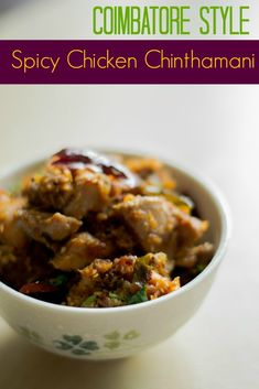 Recipe for kongunad style chicken chinthamani. A very rustic roasted dry chicken recipe. Indian Beef Recipes, Goan Recipes, Veg Recipes, Chicken Recipes, Cooking Recipes, Ethnic Recipes, Recipies, Bangladeshi Food, Bengali Food