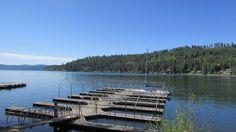 Rockford Bay on Lake Coeur d'Alene.