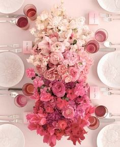 Centerpiece inspiration, could be in circle form.