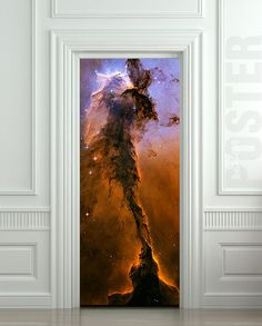 Door STICKER space eagle cosmos exploration constellation mural decole film self-adhesive poster cm) from Wallnit on Etsy. Door Stickers, Removable Wall Stickers, Wall Stickers Murals, Wall Murals, Adventure Time, Cosmos, Hubble Images, Peel And Stick Vinyl, Orion Nebula