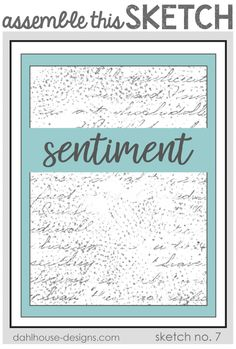 Hello Friends… I have a quick and easy card to create today using a fabulous Unity Stamp Company sentiment kit and Assemble This! Sketch no. It is a great design to keep around in case you… Unity Stamps, Foam Adhesive, Wink Of Stella, Sketch Inspiration, Card Maker, Last Minute, Card Sketches, All You Need Is, Your Cards