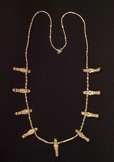 CALIMA GOLD NECKLACE. Cauca valley, ca. 500 BC – 500 AD.