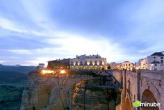 The stunning village of Ronda long regarded as one of Spain's most beautiful villages.