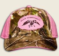 Duck Commander Hat-Pink.