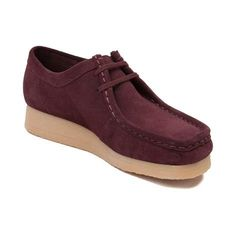 7c7089c7cc91 Get relaxed style with the Clarks Padmora casual shoe. This women s  Wallabee-inspired oxford
