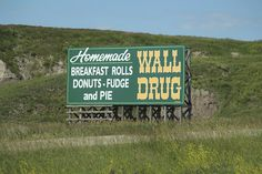 Wall Drug  Homemade Breakfast Rolls...