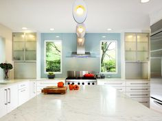Explore HGTV's beautiful pictures for kitchen countertop material ideas and options.