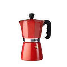 Fab.com | Espresso Maker  La Cafetiere Classic   6 cup espreso maker- Red