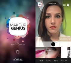 Meet Makeup Genius: L'Oreal Unveils Augmented Reality Makeup Mirror | It'll change the way you shop for makeup forever! #SELFmagazine