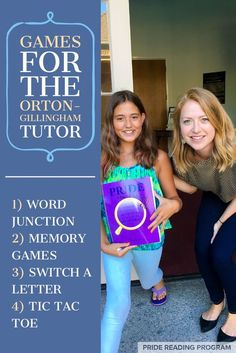 Here are some really fun and engaging games that any Orton-Gillingham tutor can use during the O-G sessions to keep the lessons active and motivating. Reading Tutoring, Reading Intervention, Teaching Reading, Reading School, Guided Reading, Reading Games, Reading Activities, Close Reading, Dyslexia