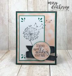 45695 best greeting cards images on pinterest in 2018 handmade stampin up dandelion wishes for the crazy crafters blog hop stamps m4hsunfo