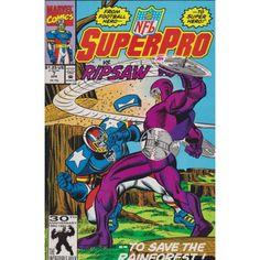 NFL SUPERPRO #7 | 1991 | VOLUME 1 | MARVEL | Comic Books | $2.00
