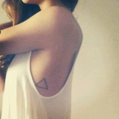 family forever #triangle #tattoo
