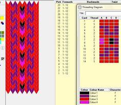 Diseño simple, 12 tarjetas, 4 colores