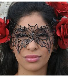 Love the look of this mask!  You can use the very cool pattern they provide or make one of your own.  While the instructions seem pretty simple, I probably would not do this one with younger than say 14/15 years old, depending on how crafty they are.