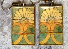 Tiles of Babylon Earrings