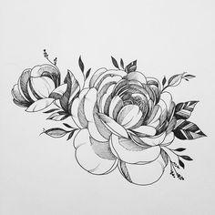 Ce style de fleurs en tatouage