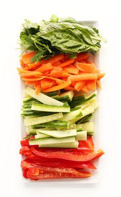 ERSTAUNLICHE, gesunde 30-minütige Quinoa Frühlingsrollen mit Cashew-Dip!  #vegan #glutenfree