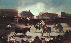 Francisco de Goya - Corrida de toros del pueblo
