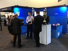 Whispir Team in action at the our APCO stand