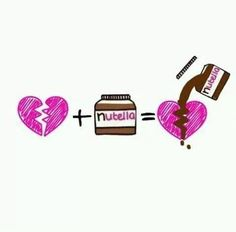 Change nutella to chocolate, and we're good.