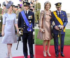 Princesa Martha Louise da Noruega e Princesa Mathilde da Bélgica