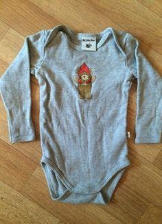 Kaufe meinen Artikel bei #Mamikreisel http://www.mamikreisel.de/kleidung-fur-madchen/bodies/18470267-gern-getragener-baby-bodie-in-grau