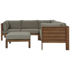 Portsea 4 Piece Sofa Package Natural