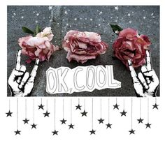 """""""Ok,Cool"""" by freedom2095 ❤ liked on Polyvore featuring art"""