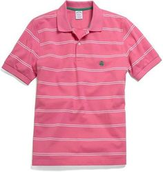 9fd2cc83ac Brooks Brothers Golden Fleece® Slim Fit Space Twin Stripe Polo - ShopStyle