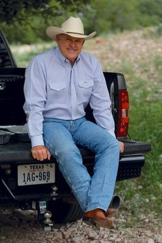 Nolan Ryan - Texas native, rancher, and baseball legend.  Ryan is the only player in Major League history to have his uniform retired by three teams (California Angels, Houston Astros, and Texas Rangers).  From 1966 to 1993, he held or broke 51 Major League records.  To this day, no one has topped his 5,714 strikeouts, seven no-hitters, and 12 one-hitters.