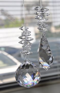 crystal sun catchers - Google Search  I want these. So beautiful. Incensewoman