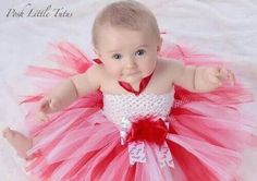 Sweet Little Candy Cane Red & White Tutu Dress - 2151 Red Tutu, White Tutu, Christmas Tutu, Christmas Outfits, Crochet Tutu, Baby Hacks, Baby Tips, Cute Candy, Photography Pics