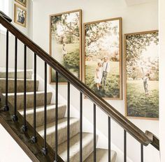 Picture Wall Staircase, Staircase Wall Decor, Stair Walls, Frame Wall Decor, Home Decor Wall Art, Picture Walls, Stairs, Stairway Photos, Stairway Gallery Wall