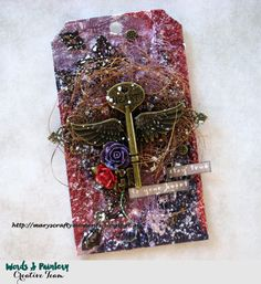 Mary's Crafty Moments: Stay True to Your Heart - A tag for Words and Pain...
