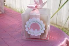 Gabriel and Belle Celebrations: Pink Elephant Baby Shower Dessert Table